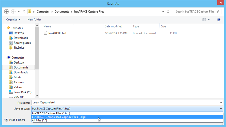 how to save a zip file